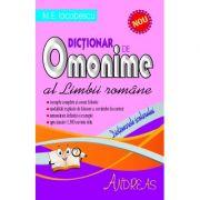 Dictionar de omonime al limbii romane (M. E. Iacobescu)