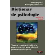 Dictionar de psihologie vol. 4 - Stefan Popescu
