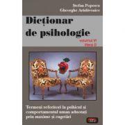 Dictionar de psihologie vol. 6 - Stefan Popescu
