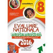 MATEMATICA. Evaluare Nationala 2016 pentru clasa a VIII-a. (86 de teste dupa modelul M. E. C. S) - Adrian Zanoschi