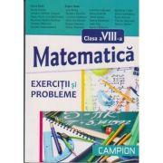 Matematica exercitii si probleme pentru clasa a VIII-a (Dana Radu)