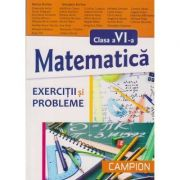 Matematica exercitii si probleme pentru clasa a VI-a. Marius Burtea