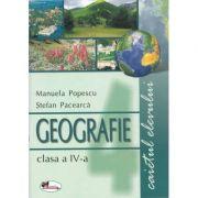 Geografie clasa a IV-a. Caietul elevului (Manuela Popescu)