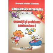 Matematica si explorarea mediului. Exercitii si probleme - Clasa I. Gheorghe A. Schneider)