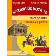 Istoria de nota 10. Caiet de lucru clasele V-VI - Magda Stan