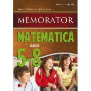 MEMORATOR DE MATEMATICA (Clasele V-VIII) - Daniel Vladucu