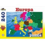 Harta Europei - Puzzle 240 piese (NOR4551)