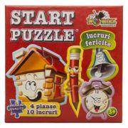 Lucruri fericite - Start Puzzle 4 in 1 (NOR4469)