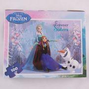 Servieta cu puzzle Frozen FRZ_XP02