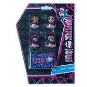Set 4 stampile Monster High MOH3602