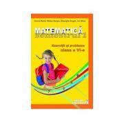 Matematica. Clasa a VI-a, semestrul I - Exercitii si probleme, 2012-2013 (Cornel Moroti)