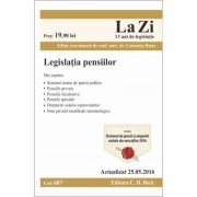Legislatia pensiilor. Actualizat la 25. 05. 2016, Cod 607 (Conf. univ. dr. Luminita Dima)