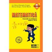 Matematica - Clasa a VII-a, semestrul I. Exercitii si probleme 2010-2011