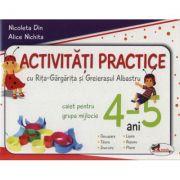 Activitati practice cu Rita-Gargarita si Greierasul Albastru, pentru grupa mijlocie 4-5 ani