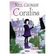 Coraline - Neil Gaiman (Carte cu ilustratii)