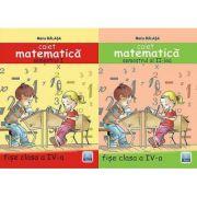 Matematica pentru clasa a IV-a - Set caiete (Maria Balasa)