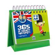 CALENDAR. 365 de cuvinte englezesti ilustrate, 7-9 ani. Sunt Imbatabil