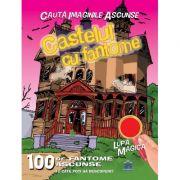 Castelul cu fantome. Cauta Imaginile Ascunse. 100 de fantome ascunse
