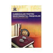Curriculum Pentru Invatamantul Prescolar - Prezentare si Explicitari
