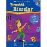 POVESTEA LITERELOR - Caiet pentru activitati (grupa mare 5-6 ani)