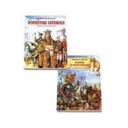Set povestiri istorice pentru copii. Povestiri istorice si scantei de peste veacuri - de Dumitru Almas