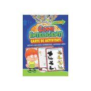 Jocuri pentru copii inteligenti - 3 ani. (Carte de activitati)
