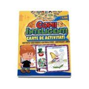 Jocuri pentru copii inteligenti - 6 ani. Carte de activitati