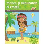 Mohea si minunatele ei creatii. 300 de autocolante pentru micutele tahitiene