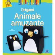Animale Amuzante. Origami - Denise Cauquetoux