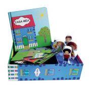 Casa mea. Set carte, puzzle, jucarii, figurine lemn