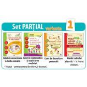 SET PARTIAL AUXILIARE pentru clasa pregatitoare (varianta 1)