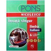 Invata singur limba italiana (incepatori) & 4 CD-uri audio (Beatrice Rovere-Fenati)
