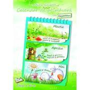 Calendar de primavara cu Abtibilduri. Clasa a IV-a - Adina Grigore