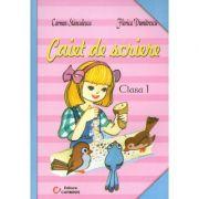 Caiet de scriere - Clasa I (Carmen Stanculescu)