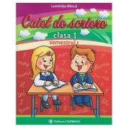 Caiet de scriere - Clasa I sem. I - Auxiliar creat dupa manualul editurii CD Press