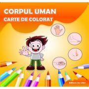 Carte de colorat. Corpul Uman - Adina Grigore