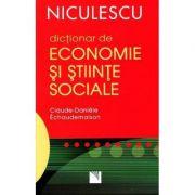 Dictionar de economie si stiinte sociale (Claude-Daniele Echaudemaison)