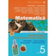 Matematica - clasa a V-a. Breviar teoretic cu exercitii si probleme propuse si rezolvate.