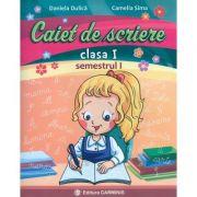 Caiet de scriere pentru clasa I, semestrul I - In conformitate cu noua programa scolara ( dupa manualul editurii Aramis )