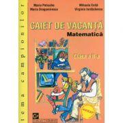 Matematica. Caiet de vacanta - Clasa a II-a. (Tema campionilor)