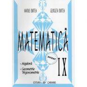 Matematica - clasa a IX-a. Alegbra, Geometrie, Trigonometrie (Georgeta Burtea)