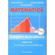 MATEMATICA. Culegere de probleme - Clasa a X-a (Marius Burtea)
