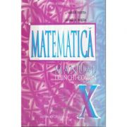 Manual pentru clasa a X-a, Matematica Trunchi comun ( Marius Burtea)