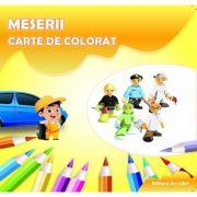 Carte de colorat. Meserii - Adina Grigore