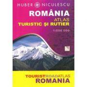Romania. Atlas turistic si rutier (Huber Kartographie)