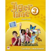 Tiger Time level 3 Student s Book/ Manualul elevului ( with access code to extra material in Student s Resource Centre)