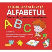 Coloreaza si invata alfabetul - Diana Rotaru