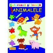 Coloreaza si invata animalele - Diana Rotaru