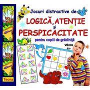 Jocuri distractive de logica, atentie si perspicacitate pentru copiii de gradinita de Diana Rotaru (1296)