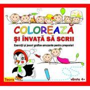 Coloreaza, invata sa scrii - Diana Rotaru